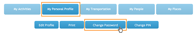 Antris Change Password