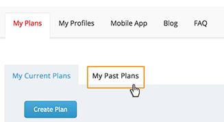 Past Plans